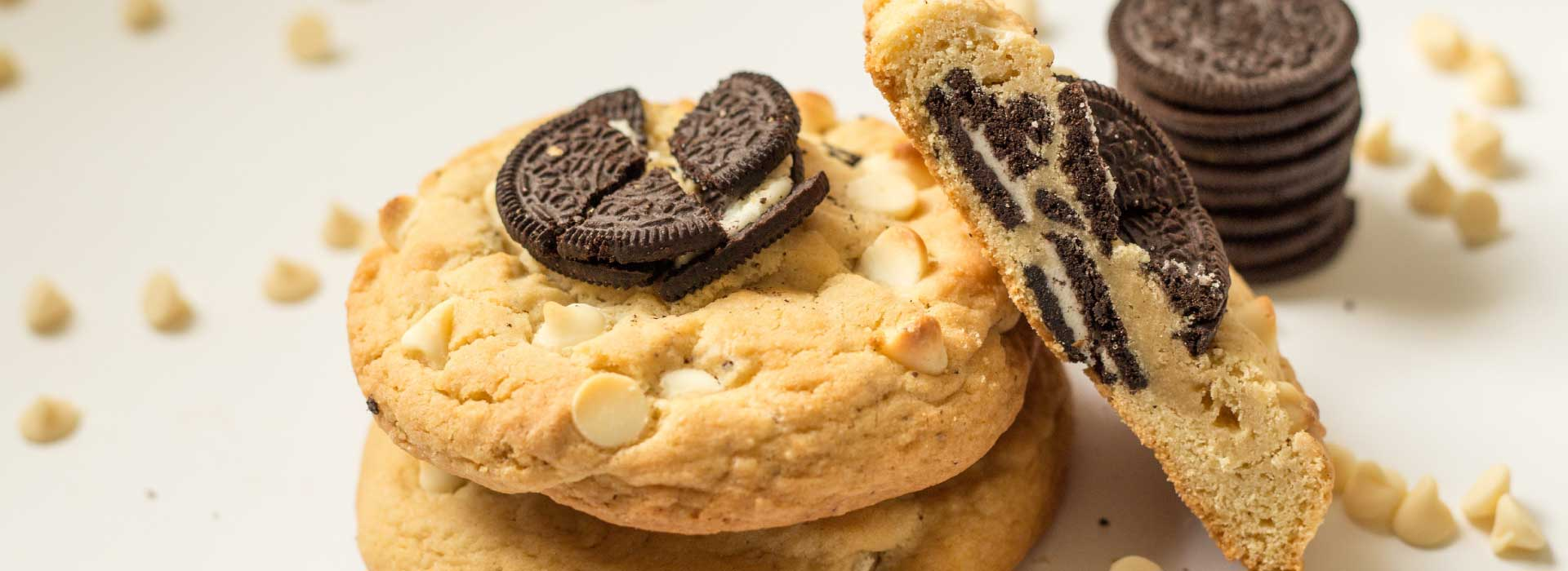 massive oreo crush cookie