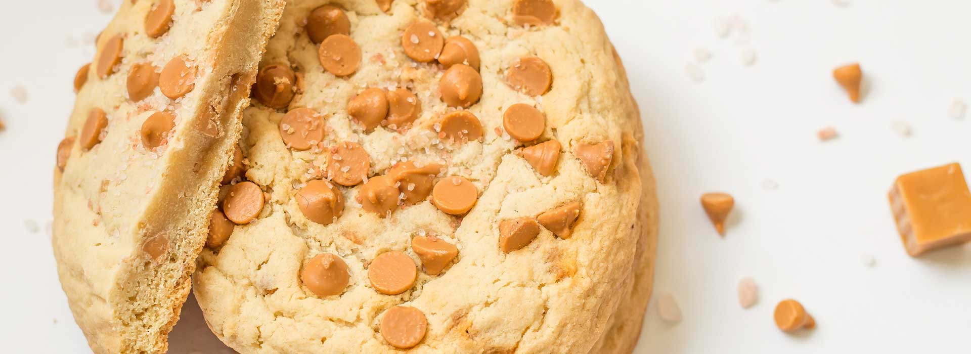 giant butterscotch cookies to order