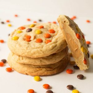 giant gourmet peanut butter cookies